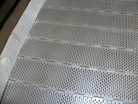 挡板型不锈钢链板
